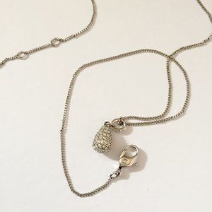 Swarovski Pear-Shaped Pendant Necklace
